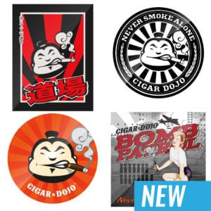 Cigar Dojo Sticker Pack 2018