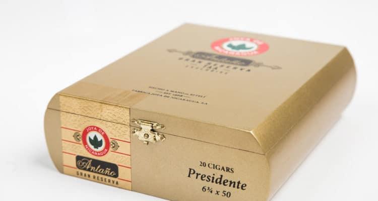 Joya de Nicaragua Antaño Gran Reserva Presidente TAA 2018 presentation