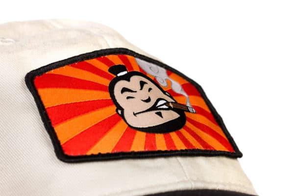 Sensei Patch Khaki Cap closeup