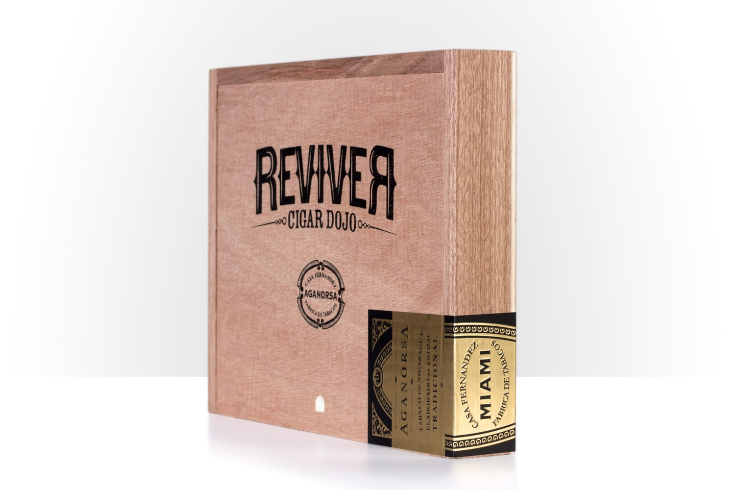 Cigar Dojo ReviveR Aganorsa Leaf box side