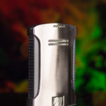 Colibri Daytona Brushed Chrome + Black lighter