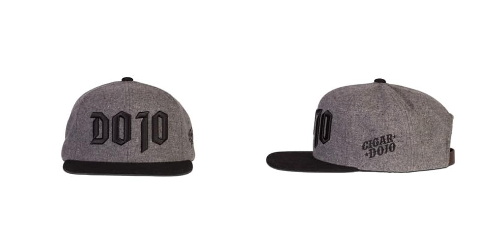 DOJO Heather Gray Flat Bill caps