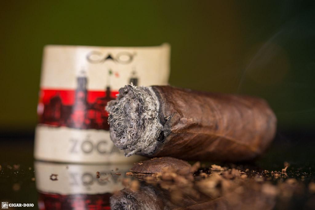 CAO Zócalo cigar nubbed
