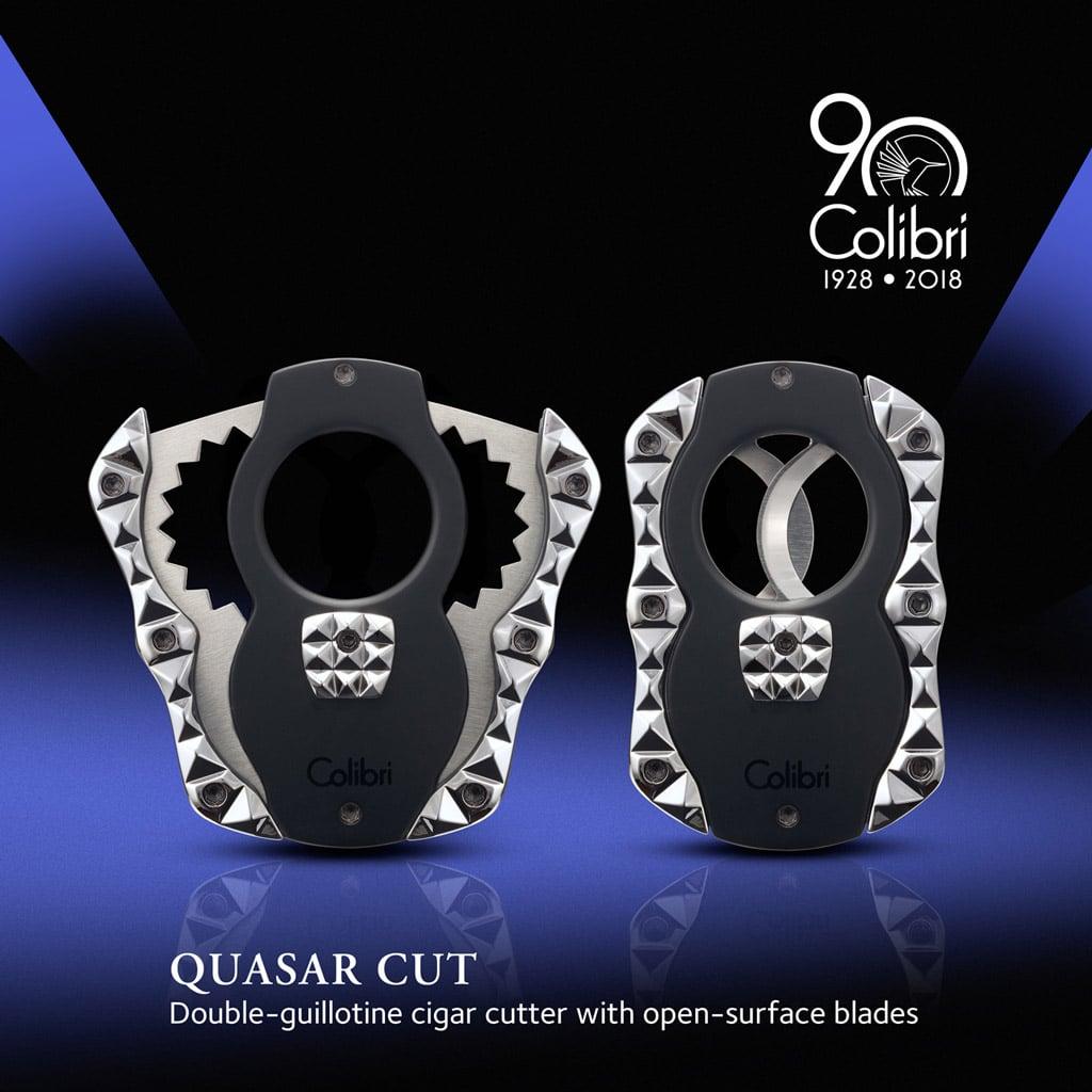 Colibri Quasar Cut cigar cutter