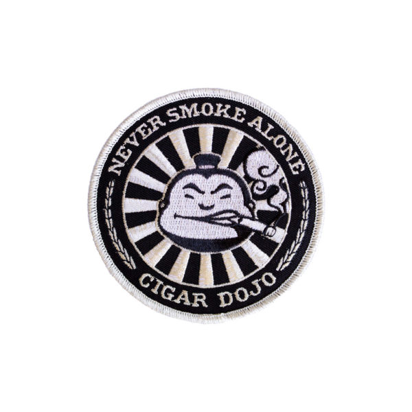 Black + Silver Cigar Dojo Patch