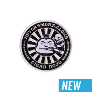 Black + Silver Cigar Dojo Patch NEW