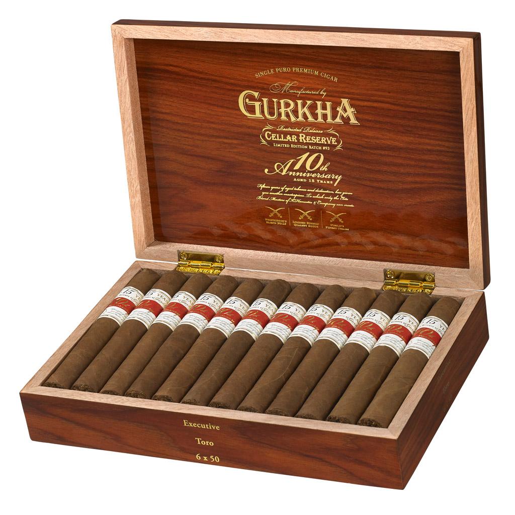 Gurkha Cellar Reserve 10th Anniversary box