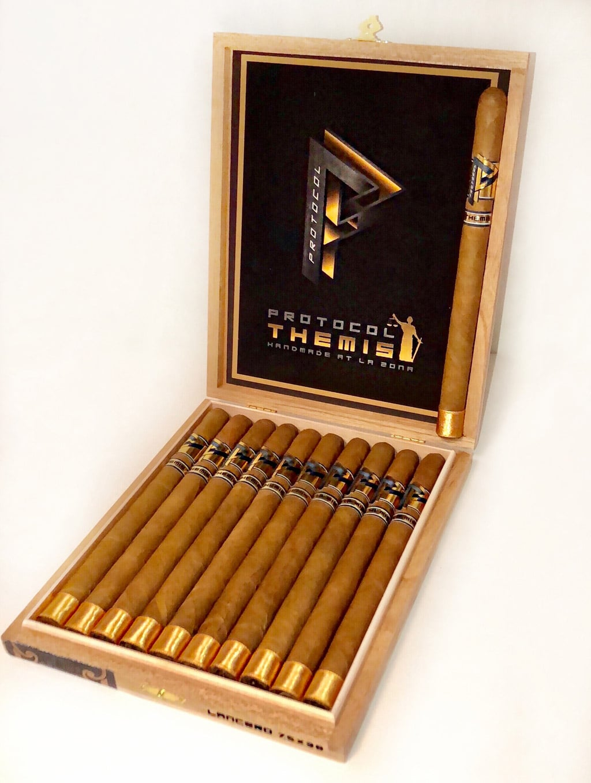 Protocol Themis Lancero box cigars