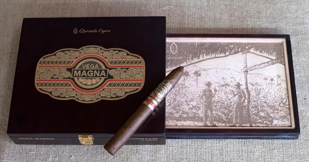 Quesada Vega Magna box artwork