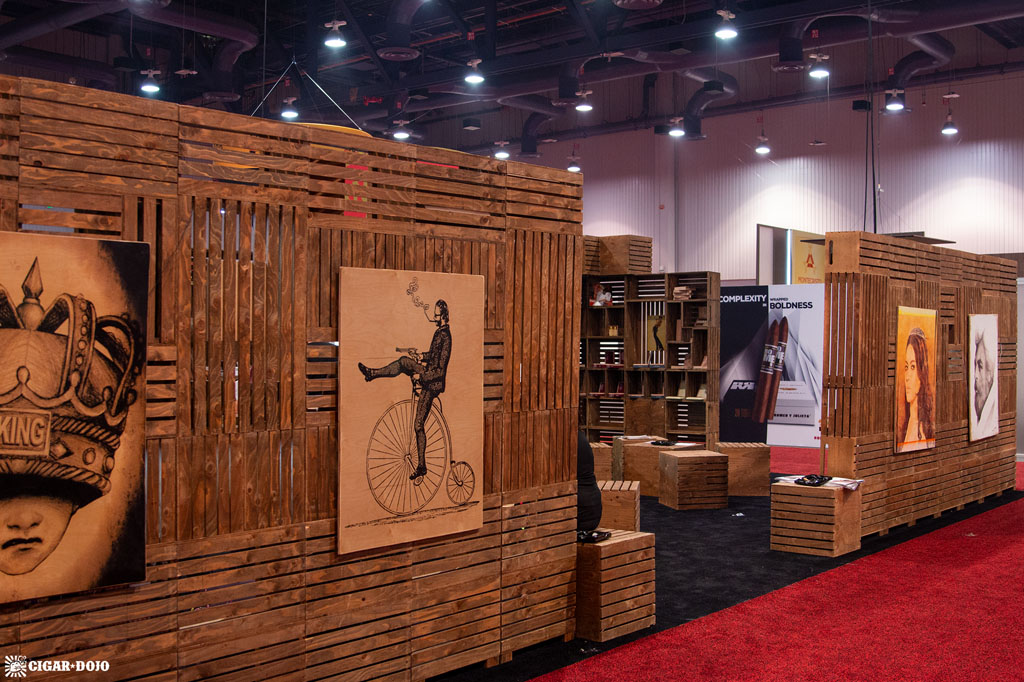 Caldwell Cigar Co. booth IPCPR 2018
