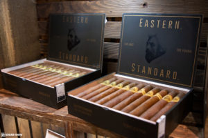 Caldwell Eastern Standard Sungrown cigar boxes IPCPR 2018