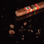 Joya de Nicaragua Antaño Gran Reserva Presidente TAA 2018 cigar cut cap