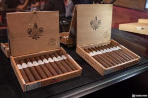 Tatuaje 15 Rosado Oscuro cigar display IPCPR 2018