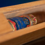 Don Pepín García 15th Anniversary Limited Edition Robusto cigar in coffin