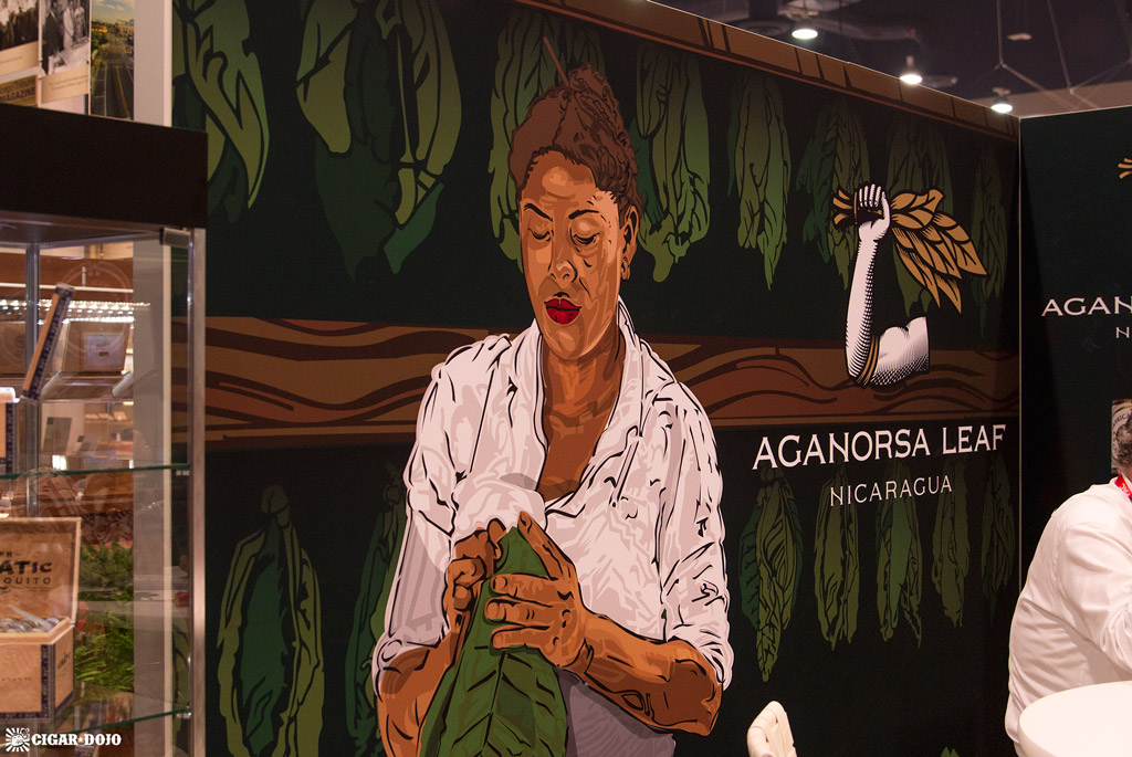 Aganorsa Leaf booth IPCPR 2018