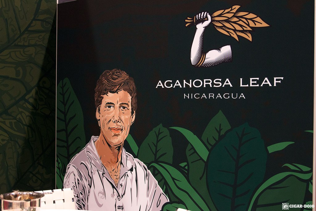 Aganorsa Leaf booth Terence Reilly IPCPR 2018