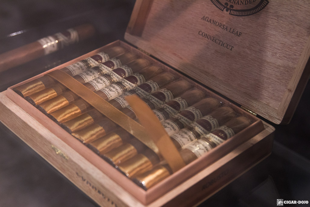 Aganorsa Leaf Connecticut cigars IPCPR 2018