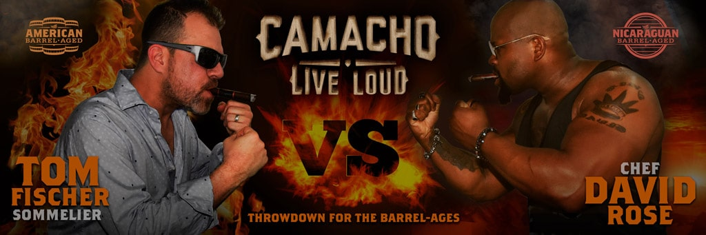 Camacho Bourbon vs Rum Throw Down