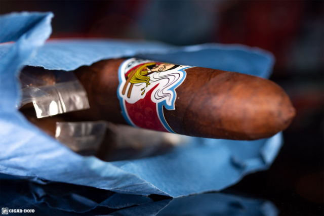 Room101 Cigar Dojo [untitled] noodles cigar belicoso head