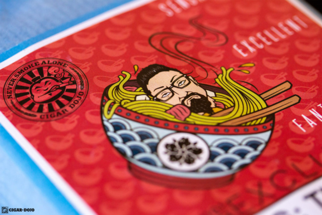 Room101 Cigar Dojo [untitled] noodles cigar bundle label