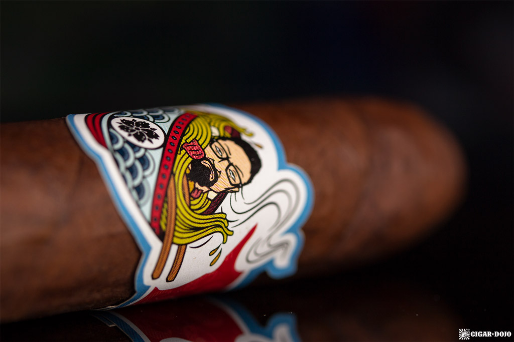 Room101 Cigar Dojo [untitled] noodles cigar band