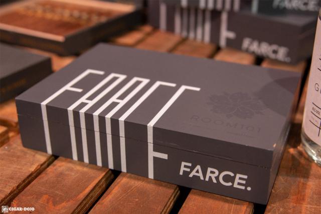 Room101 Farce cigar box IPCPR 2018