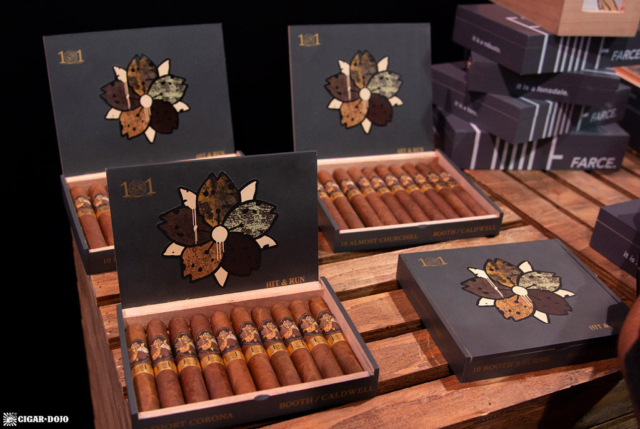 Hit & Run Part Deux (Rip & Dip) cigar display IPCPR 2018