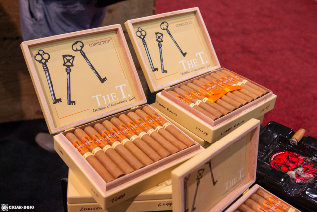 The T. Connecticut cigars display IPCPR 2018