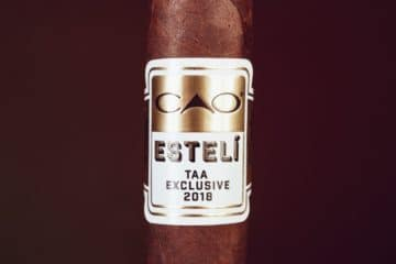 CAO Estelí TAA Exclusive 2018 cigar review