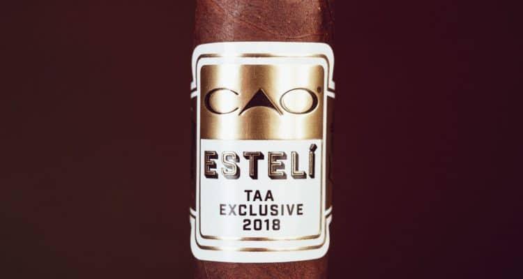 CAO Estelí TAA Exclusive 2018 cigar review