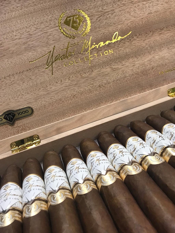 Nestor Miranda 75th Anniversary cigars