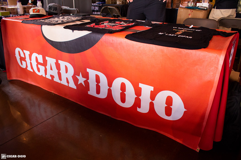 Cigar Dojo booth Rocky Mountain Cigar Festival 2018
