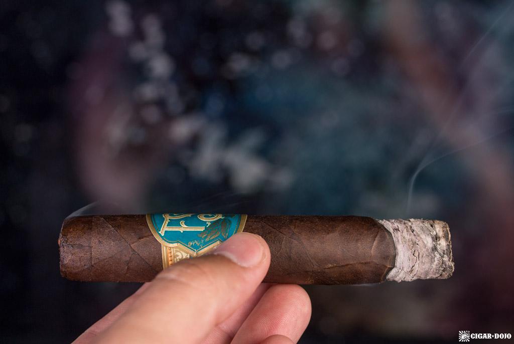 Drew Estate Florida Sun Grown Robusto cigar smoking