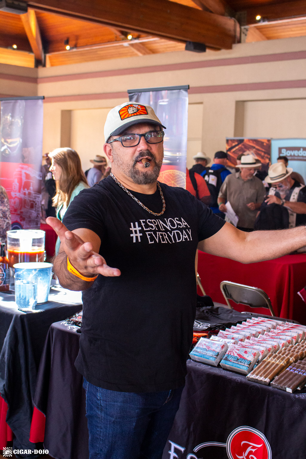 Erik Espinosa Rocky Mountain Cigar Festival 2018