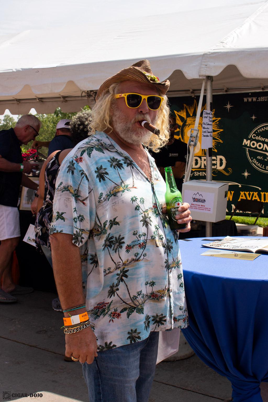 Island Jim Robinson Rocky Mountain Cigar Festival 2018