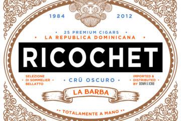 La Barba Ricochet logo design
