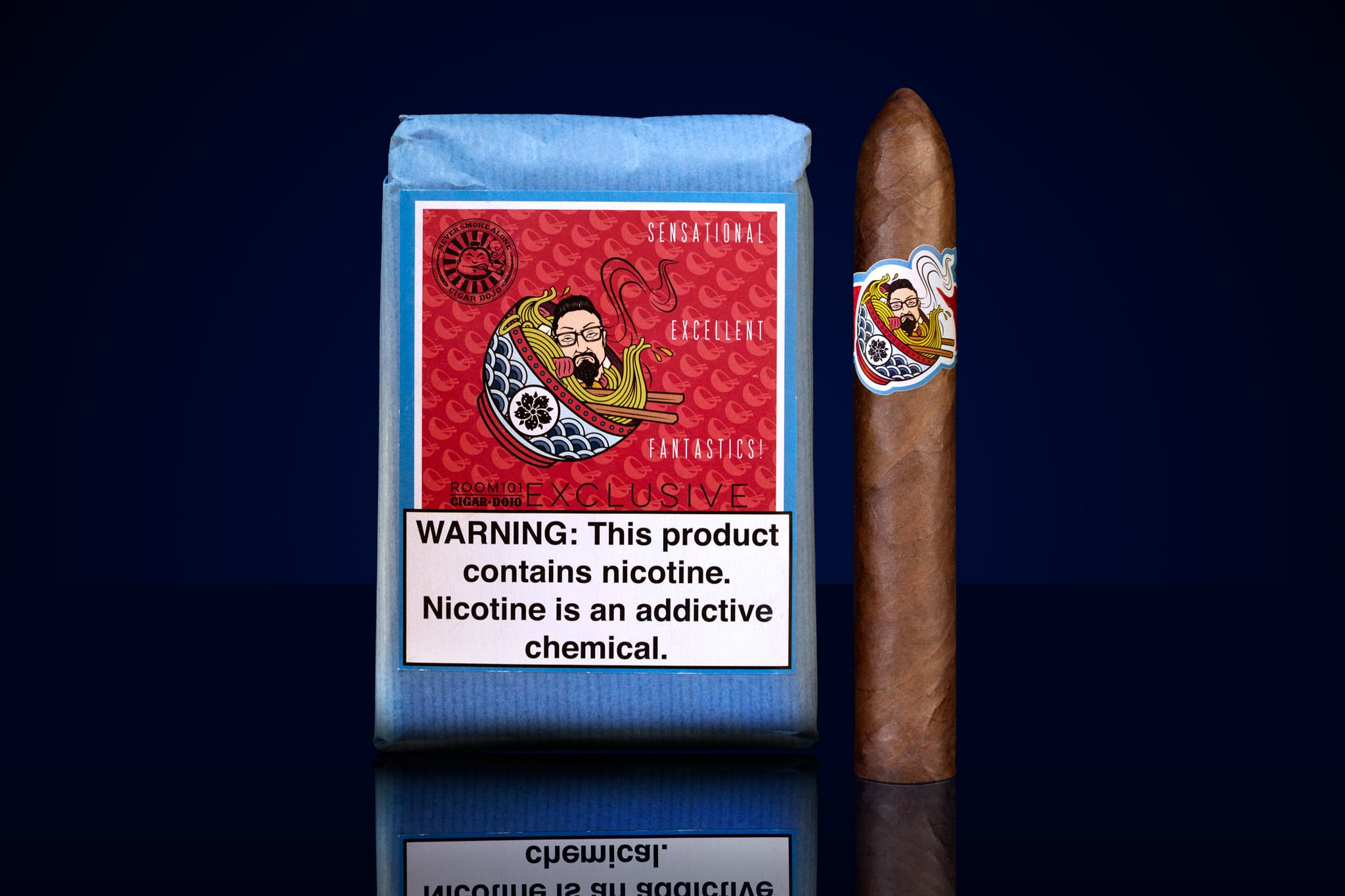 [untitled] Room101 Cigar Dojo collaboration bundle and cigar
