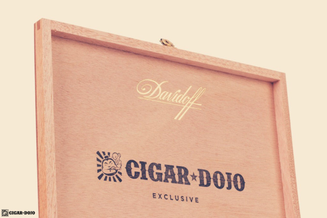 Davidoff Cigar Dojo Exclusive 2018 box lid inside
