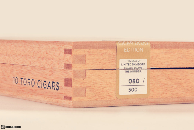 Davidoff Cigar Dojo Exclusive 2018 box numbered
