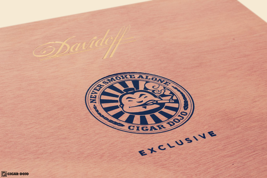 Davidoff Cigar Dojo Exclusive 2018 box lid