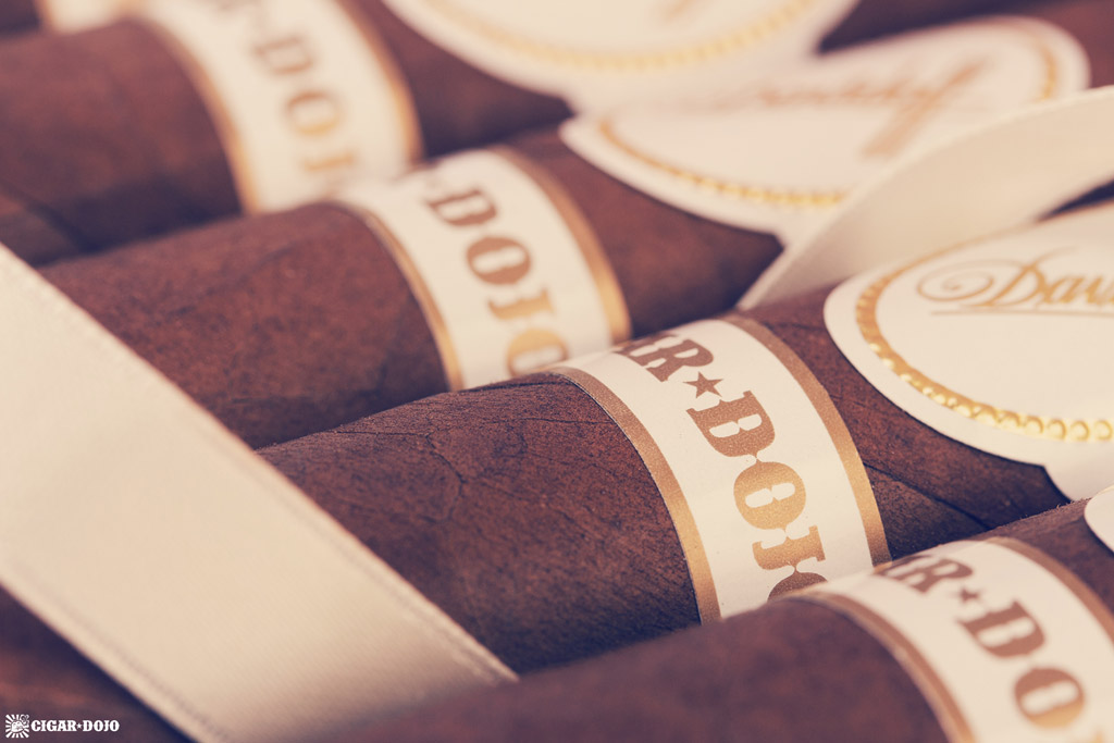 Davidoff Cigar Dojo Exclusive 2018 cigar bands closeup