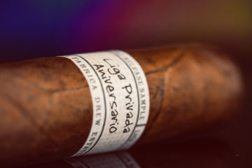 Liga Privada 10-Year Aniversario pre-release cigar review