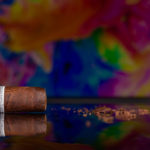 Liga Privada 10-Year Aniversario pre-release cigar cut cap