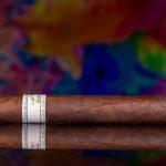 Liga Privada 10-Year Aniversario pre-release cigar side view