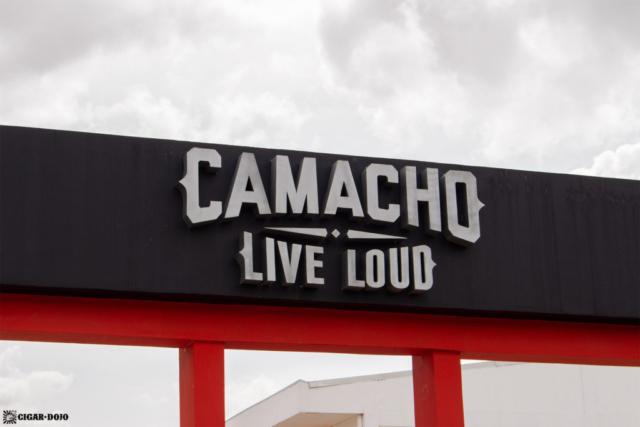 Camacho Diadema Cigars de Honduras factory facade