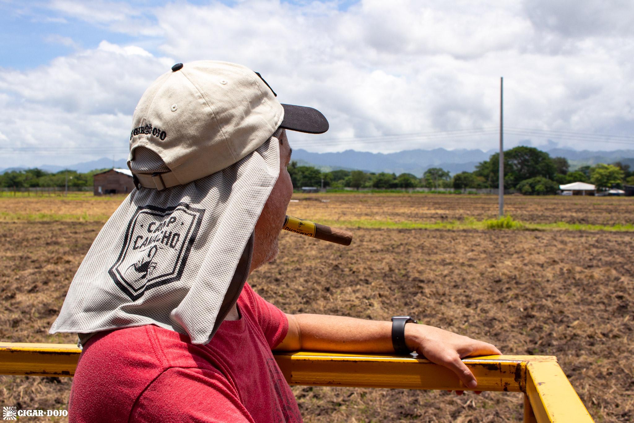 Camacho Diadema Cigars de Honduras tobacco field