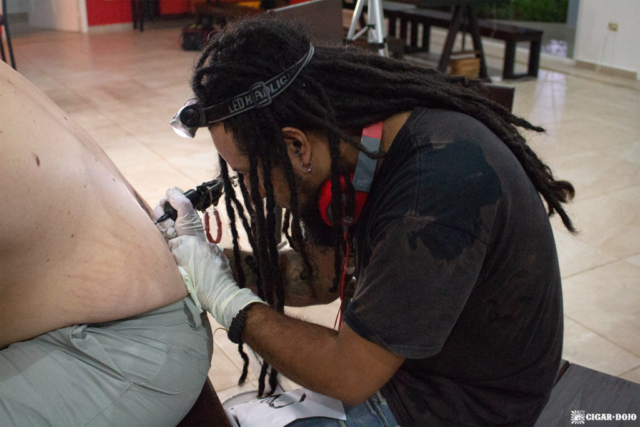 Camp Camacho tattooing Honduras 2018
