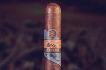 Diesel Whiskey Row Robusto cigar review
