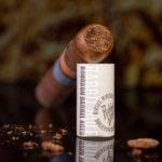 Diesel Whiskey Row Robusto cigar cut head