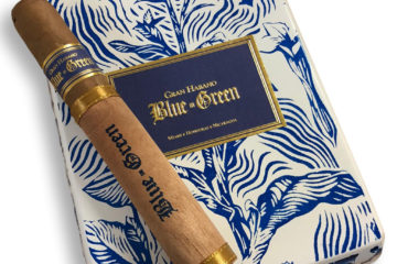 Gran Habano Blue in Green presentation